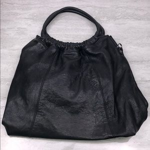 SOHOBAGS Leather Essex Hobo Purse Made in Italy
